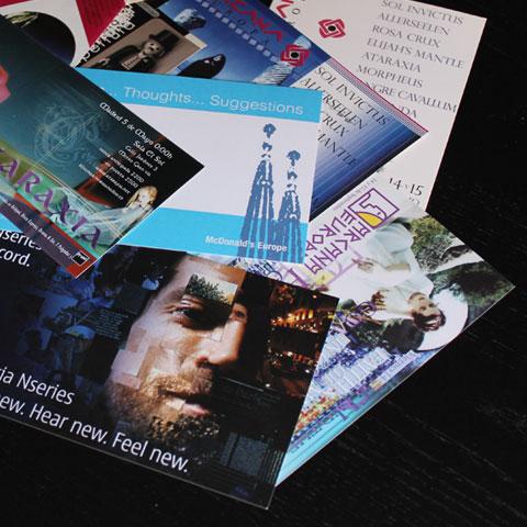 diseñador de invitaciones y flyers