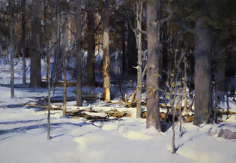 Pintura de paisajes. A Peaceful Moment