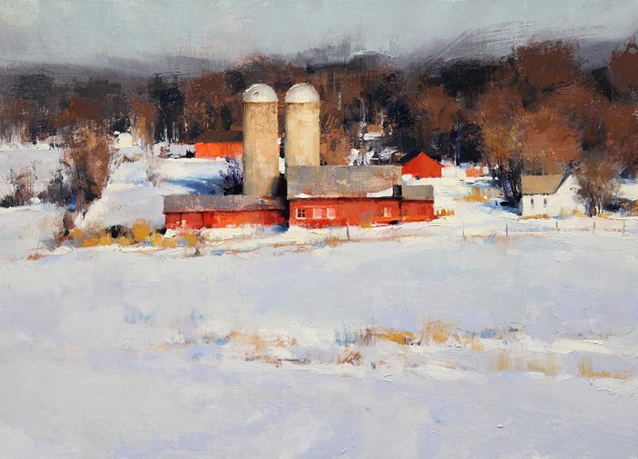 Pintura de paisajes. Early Winter Cover