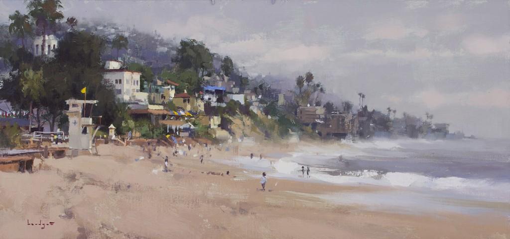 Pintura de paisajes. Main Beach