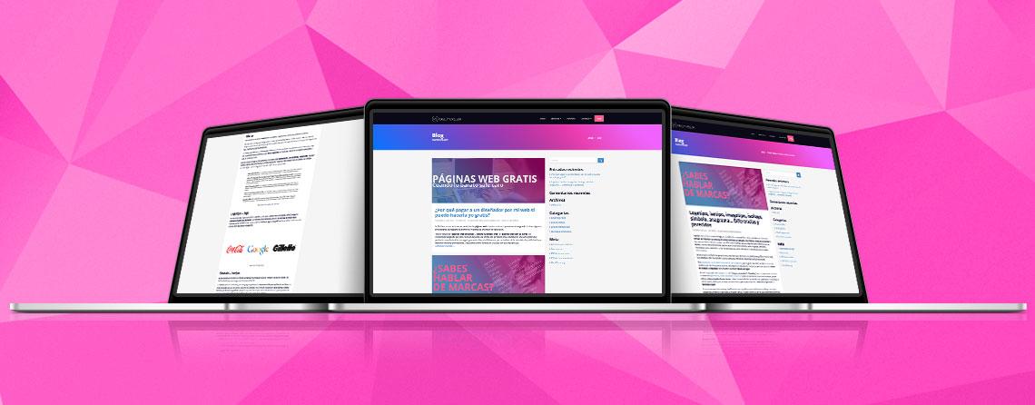 Diseñador de Blogs para particulares y empresas
