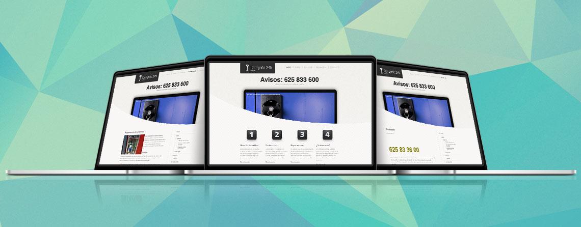 Diseñador freelance de Página web inicial estática, microsite o web básica