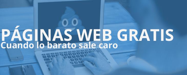 páginas web gratis