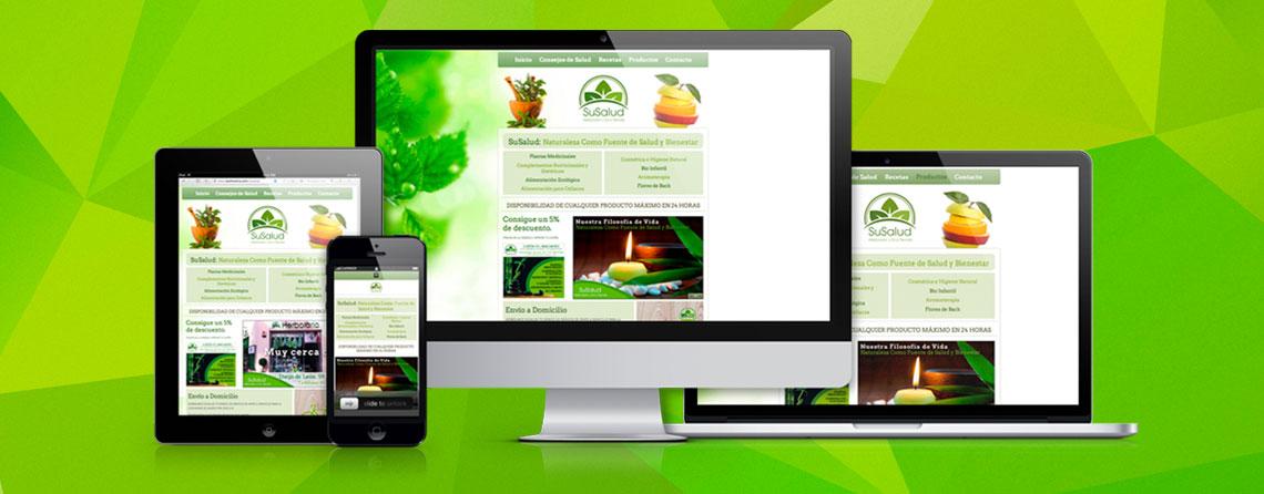Diseñador de páginas web responsive freelance Madrid
