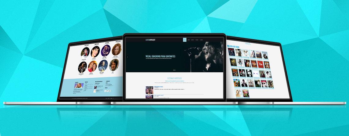 Diseñador webs personales y web curriculum