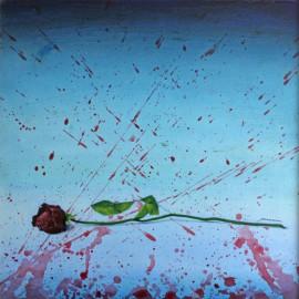 Pintura, acrílico, Las Flores del Mal, Venta de cuadros originales en Madrid