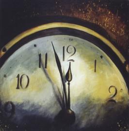 Pintura, acrílico, Reloj, venta de cuadros decorativos
