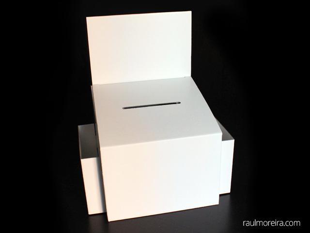 precios urnas de cartón para votación
