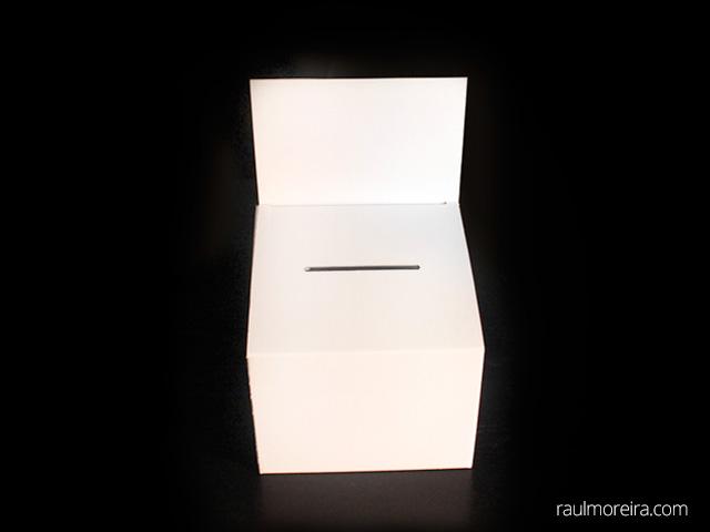 urnas de cartón para votación baratas