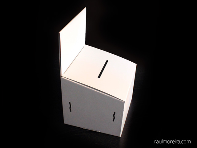 precios urnas de cartón para votación sin folders