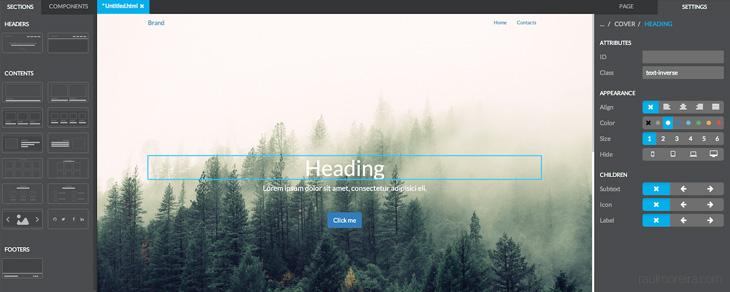 recursos gratis para Bootstrap - Pigendo