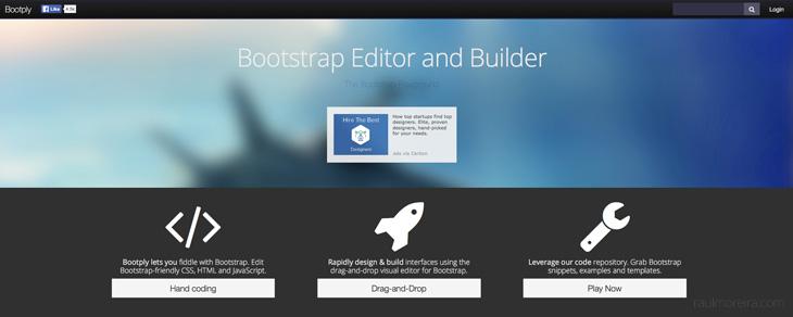 recursos gratis para Bootstrap - Bootply