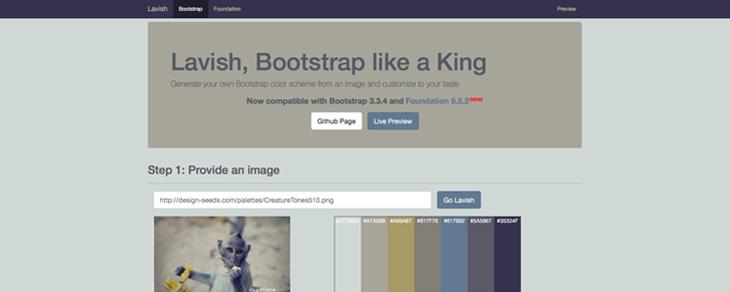 recursos gratis para Bootstrap - Lavish