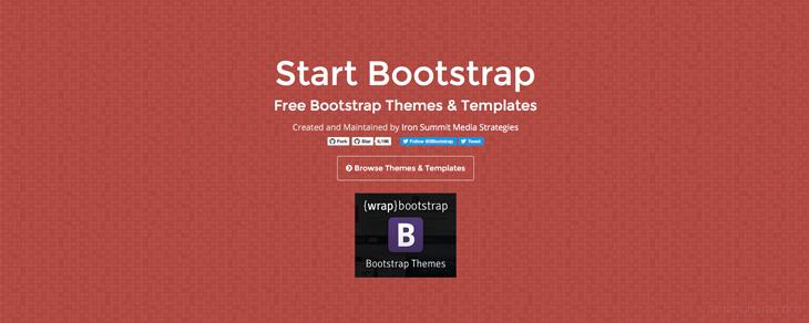 recursos gratis para Bootstrap - Start Bootstrap