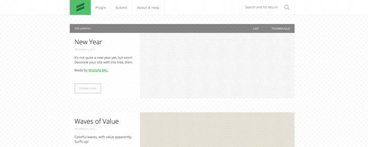 recursos gratis para Bootstrap - Subtle Patterns