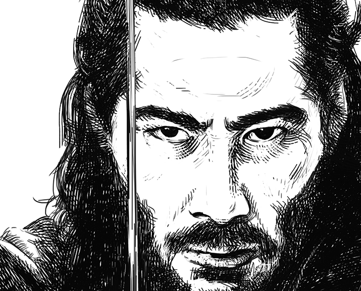 Ilustración digital Raúl Moreira detalle