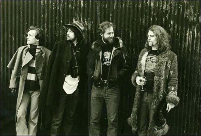 Los miembros de The Studio