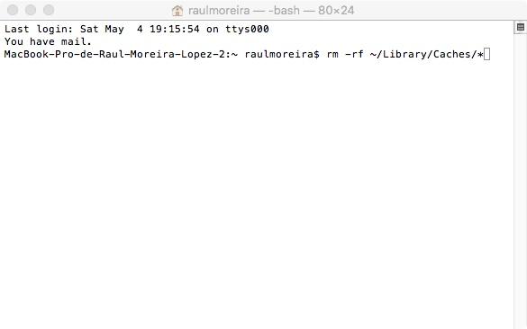 Comandos para solucionar actualizar a MacOs HighSierra 10.13.6 Mac no se apaga