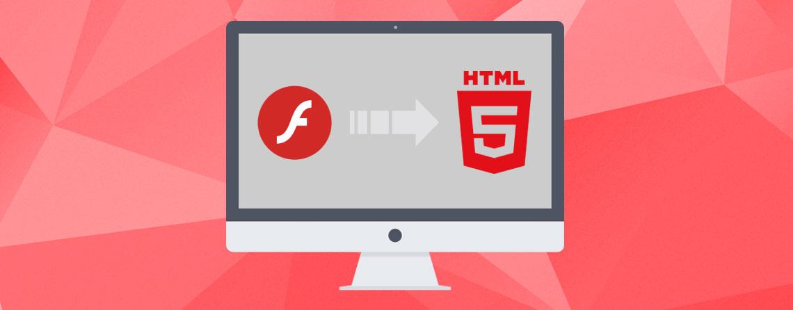 Traslado de página web en Flash a HTML