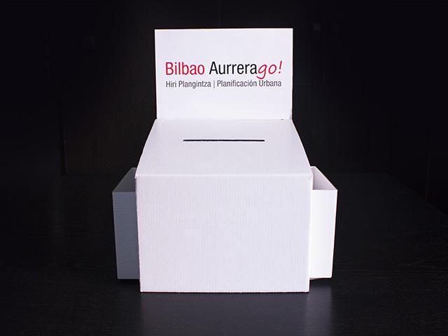 venta de urnas en cartón