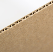 Precios urnas de cartón para sorteos en micro-canal marrón 336 gr.