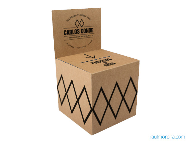 urnas de cartón para sorteos. Urna ecológica